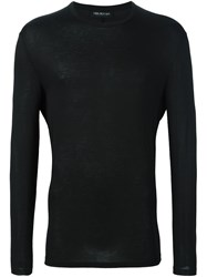 Neil Barrett Crew Neck Sweater Black