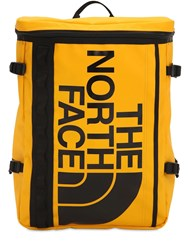 The North Face Base Camp Fuse Box Nylon Blend Backpack Yellow