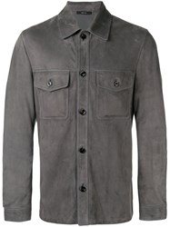 Tom Ford Button Up Shirt Grey