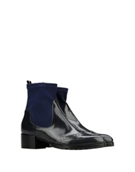 George J. Love Ankle Boots Steel Grey
