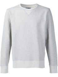 Levi's Made And Crafted Crew Neck Sweatshirt Grey