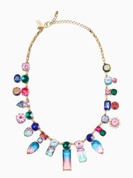 Kate Spade Color Crush Statement Necklace Multi