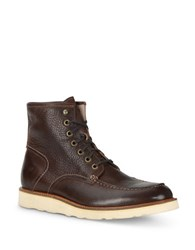 Andrew Marc New York Ashford Leather Mid Boots Ember