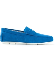 Armani Jeans Penny Loafers Blue