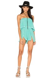 Jens Pirate Booty Venice Romper Turquoise