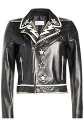 Red Valentino R.E.D. Embroidered Leather Jacket