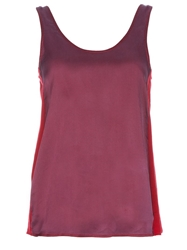 Gianfranco Ferre Vintage Two Tone Vest Red