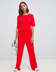 Minimum Clean Jumpsuit Fiery Red