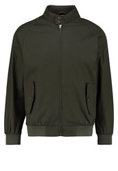 Knowledge Cotton Apparel Catalina Bomber Jacket Forrest Night Khaki