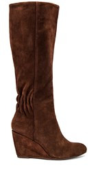 Seychelles Star Of The Show Boot In Brown. Chocolate Suede