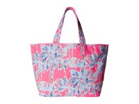 Lilly Pulitzer Beach Tote Flamingo Pink Nice Stems Accessories Tote Handbags