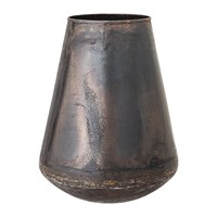 Bloomingville Metal Tarnished Vase Brown