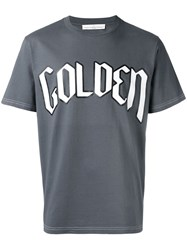 Golden Goose Deluxe Brand T Shirt Grey