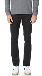 Naked And Famous Slim Stretch Twill Chino Pants Black