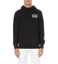 Lifes A Beach X Rejjie Snow Cotton Jersey Hoody Black