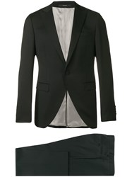 Paoloni Two Piece Suit Black