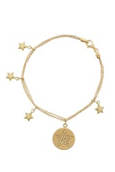 Carolina Bucci Lucky Diamonds Star Bracelet Gold