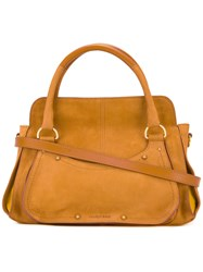 See By Chloe Top Handle Tote Bag Brown