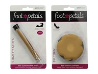 Foot Petals Strappy Shoe Cushion Kit Assorted Insoles Care Multi