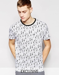 D Struct Rock T Shirt White