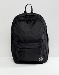 Dc Shoes Backpack In Black Ripstop