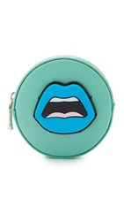 Yazbukey Cest Ahh Coin Purse Blue Lips