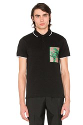 Mcq By Alexander Mcqueen Polo Black