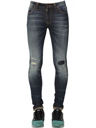 Nudie Jeans 15Cm Skinny Lin Cotton Denim