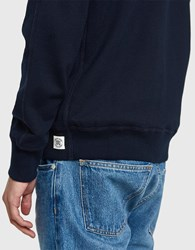 Reigning Champ Core Crewneck In Navy