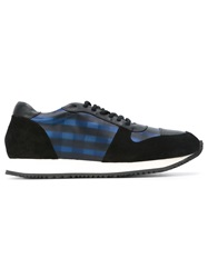 Opening Ceremony 'Arrow' Plaid Sneakers Blue