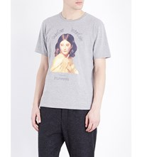 Undercover Instant Calm Cotton Jersey T Shirt Top Gray