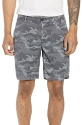Ag Jeans Wanderer Slim Fit Cotton And Linen Shorts