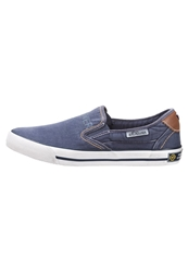 S.Oliver Slipons Navy Blue