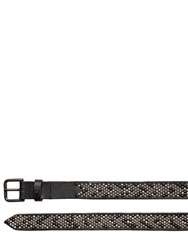Htc Hollywood Trading Company 25Mm Abeni Studded Leather Belt