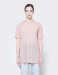 Farrow Mesh Tee In Blush
