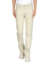 7 For All Mankind Denim Pants Beige
