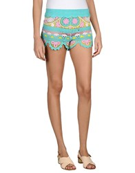 Miss June Shorts Turquoise