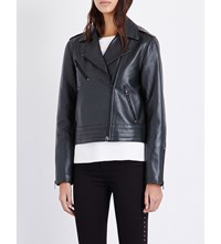Rag And Bone Mercer Leather Jacket Scarab