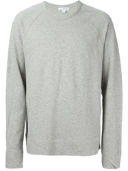 James Perse Marled Sweatshirt Grey