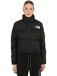 The North Face Nuptse Cropped Down Jacket Tnf Black