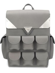 Valas Mini 'Voyager' Backpack Grey