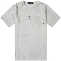Stone Island Shadow Project Garment Dyed Tee Grey
