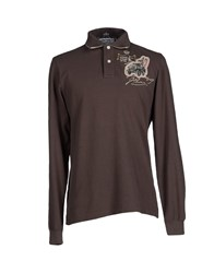 Tortuga Topwear Polo Shirts Men Cocoa