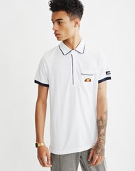 Ellesse Short Sleeve Polo Shirt With Pocket