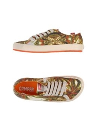 Camper Low Tops And Trainers Ivory