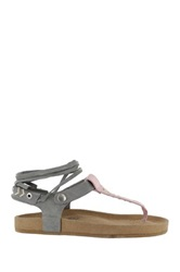 Coolway Scout Lace Up Sandal Gray