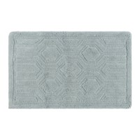 Amara Hexagon Bath Mat Duck Egg