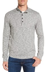 Grayers Men's Boatsman Mock Neck Henley
