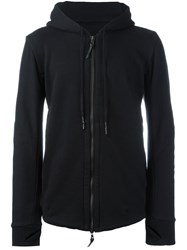 11 By Boris Bidjan Saberi Zipped Hoodie Black