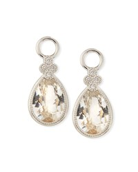 Jude Frances 18K Provence Pear Earring Charms No Color